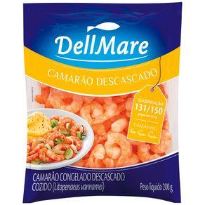 Camarão Dellmare 200g Congelado Descascado Cozido 131.150