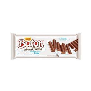 Barra de Chocolate Garoto Baton Creme Recheado ao Leite 96g