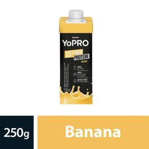Bebida Láctea Yopro Sabor Banana 250ml