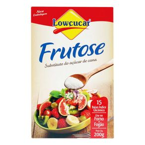 Adoçante em Pó Lowçucar Frutose Pote 200g