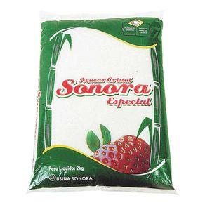 Açúcar Cristal Sonora 2kg