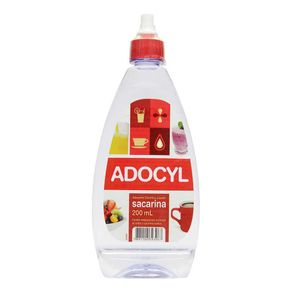 Adoçante Líquido Adocyl Sacarina 200ml