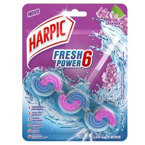 Desodorizador Sanitário Harpic Fresh Power 6 Lavanda 50g
