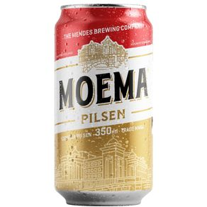 Cerveja Moema Pilsen Lata 350ml