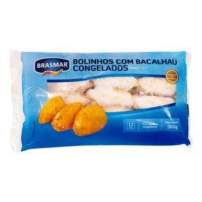 Bolinho de Bacalhau Congelado Brasmar 360g