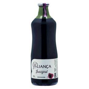 Suco Integral Aliança Uva Tinto 1,5 Litro