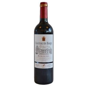 Vinho Francês Chateau du Barry Bordeaux Tinto 750ml
