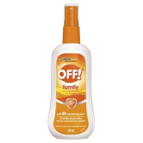 Repelente de Insetos Spray Off! Family Frasco 100ml