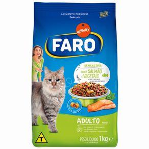 Alimento Para Gatos Faro 1kg Sabor Peixe