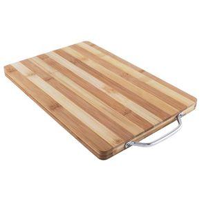 Tábua de Carne Unilar 33x22 Bambu Listrada