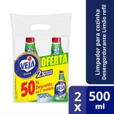 7891035800290-Veja-VEJA-GOLD-LIMPADOR-PARA-COZINHA-DESENGORDURANTE-LIMAO-2-REFIS-DE-500ML-COM-50_-DE-DESCONTO-NA-2_-UNIDADE-Site-Comper