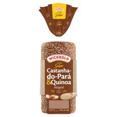 Pao-Integral-Castanha-Do-Para---Quinoa-Zero-GOrduras-Trans-Wickbold-Grao-Sabor-Pacote-400g