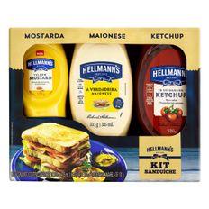 Kit-Sanduiche-Maionese-335g---Ketchup-380g---Mostarda-Amarela-Tradicional-170g-Hellmann-S