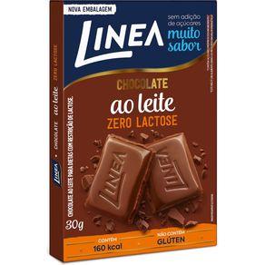 Barra-de-Chocolate-Linea-Zero-Lactose-ao-Leite-30g