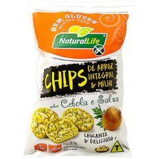 Chips-de-Arroz-Natural-Life-Integral-e-Milho-Cebola-e-Salsa-70g