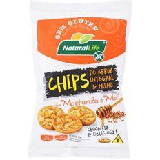 Chips-de-Arroz-Natural-Life-Integral-e-Milho-Mostarda-e-Mel-70g