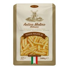 Macarrao-Antico-Molino-Integral-Penne-Rigate-N°20-500g