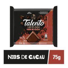 7891008137347-Chocolate_GAROTO_TALENTO_Dark_Nibs_de_Cacau_75g-Produtos_Comper_Supermercados--1-