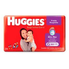 Fralda-Infantil-Huggies-Turma-da-Monica-Supreme-Care-Roupinha-Tamanho-G-Com-30-Unidades