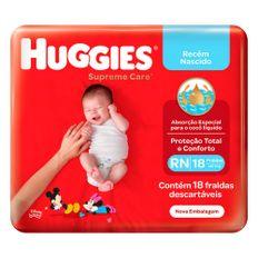 Fralda-Infantil-Huggies-Supreme-Care-100-Primeiros-Dias-Tamanho-RN-Com-18-Unidades